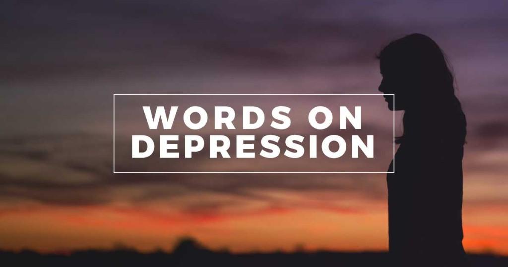 Words on Depression